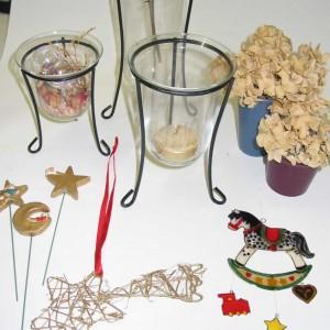 windlicht glas im eisengestell gross art fun. Black Bedroom Furniture Sets. Home Design Ideas