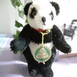 """Miniatur Panda """"Pillux"""", schwarz weiss"""