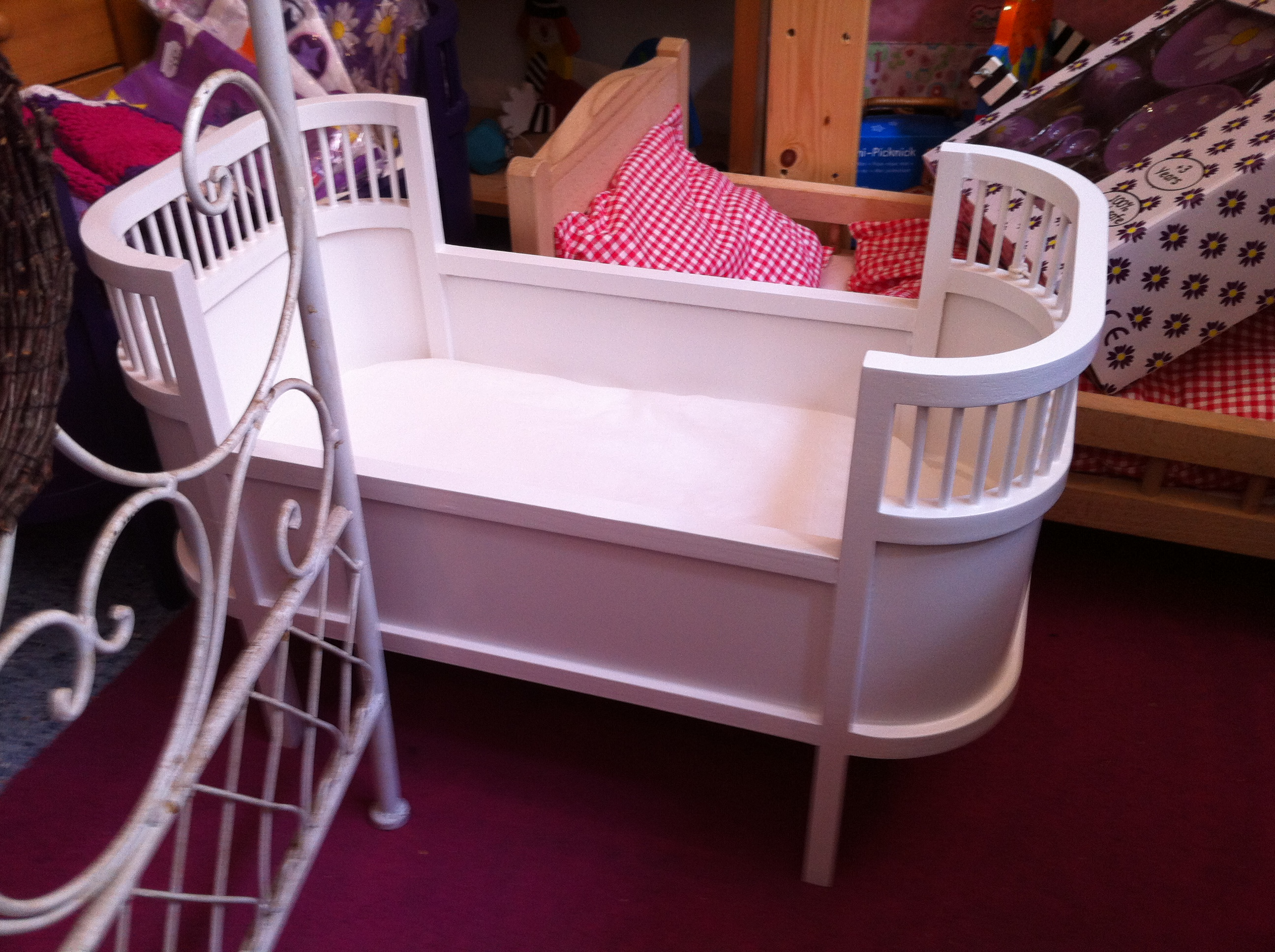 Puppenetagenbett Weiß : Puppenetagenbett katinka pinolino kinderträume